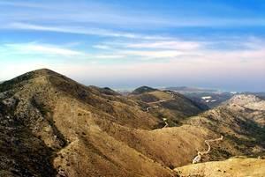 Montagnes à Corfou