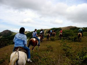 cavalcando Costa Rica
