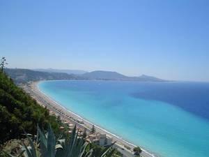Strand von Rhodos