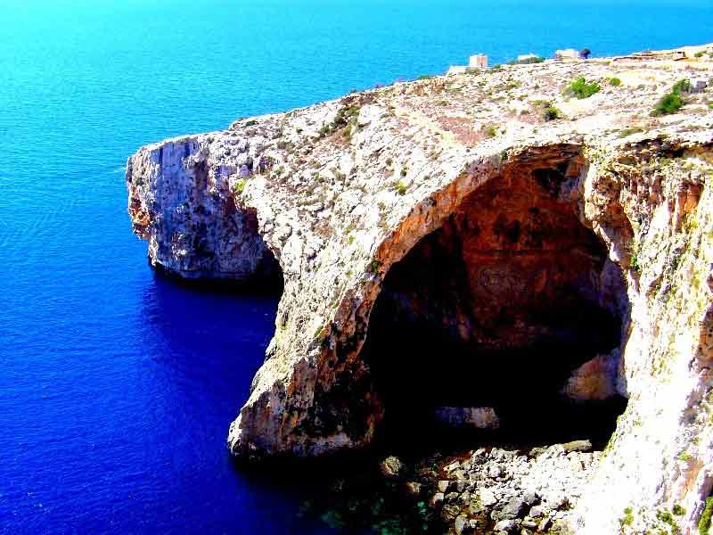 Felsen auf Malta