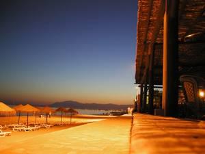 Spiaggia di Marbella alla notte