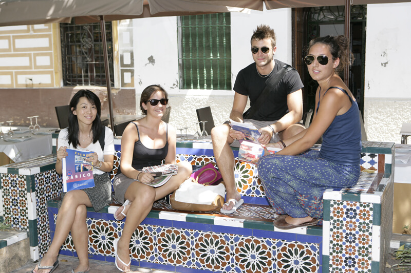 Spanish language courses in Seville will make you learn fast and effective, you will meet new people and explore the city