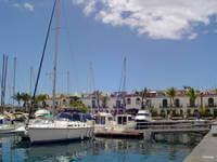 kleiner Hafen auf Gran Canaria