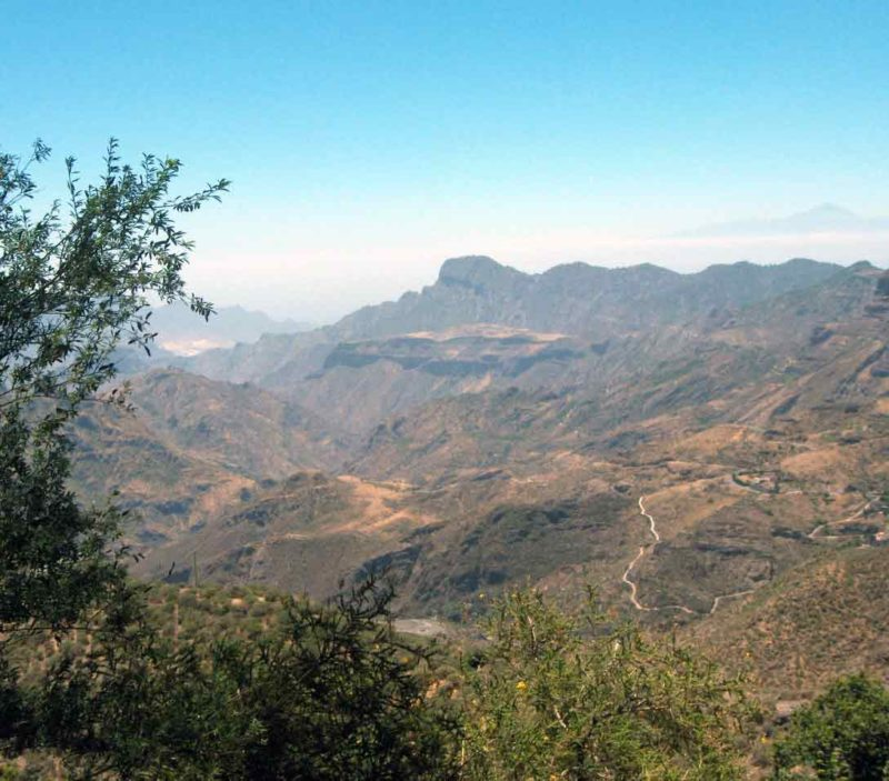 Mountains on Gran Canaria