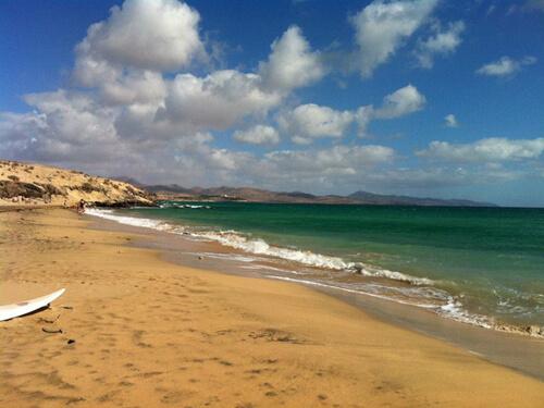 practical training on Fuerteventura