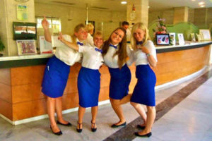 Internship abroad_Reception Department