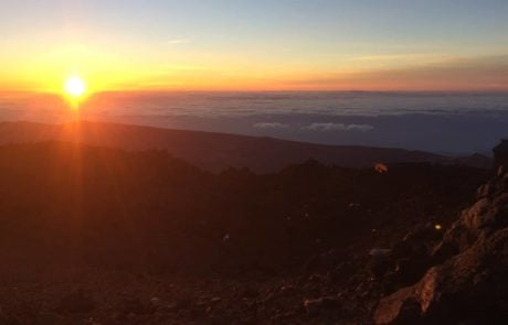 sunrise on Teide - Tenerife Spain