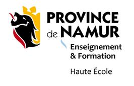 our Partner La Haute Ecole de la Province Namur