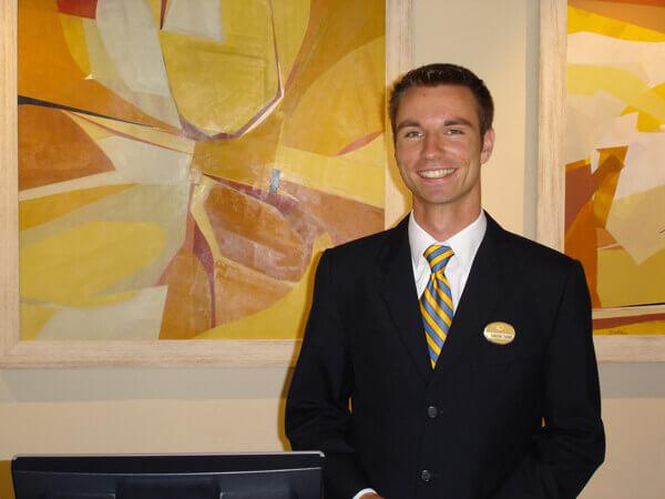 Internship in hotel management