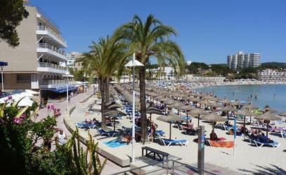 Prácticas de estudiantes en Mallorca