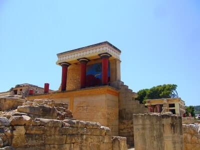 Prácticas en Grecia Palacio de Knossos