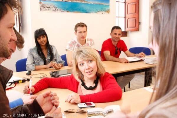 Cours d'anglais à Malte