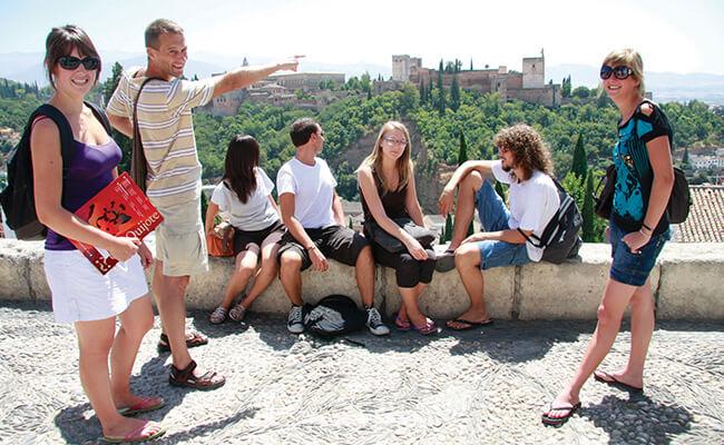 Curso de idiomas en España, Granada