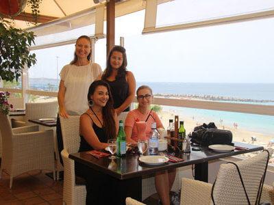 internship in hotel Spain