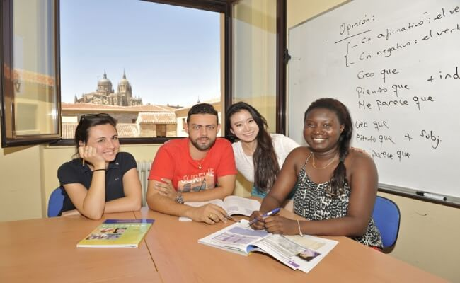 Communication school abroad