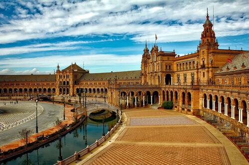 Scuola in Spagna a Siviglia